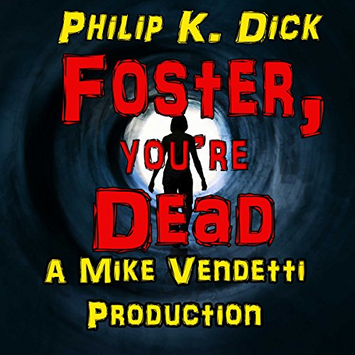 Foster, You're Dead audiobook cover art