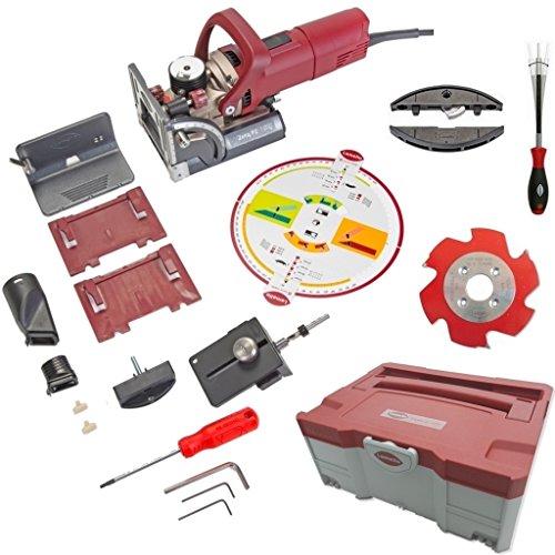 Lamello Zeta P2-Set mit HW-Fräser im Systainer + Clamex P-14 + Montagewerkzeug
