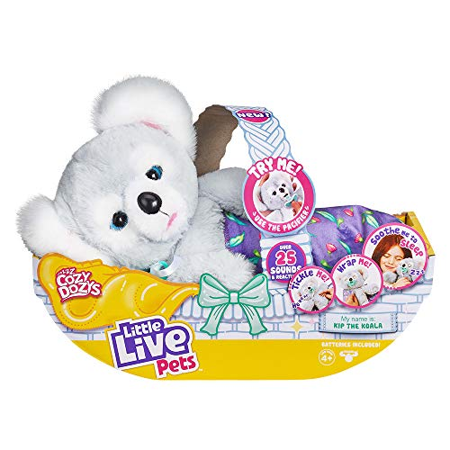 Little Live Pets Cozy Dozy Kip The Koala Bear Interactive Pet