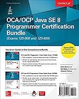 OCA/OCP Java SE 8 Programmer Certification Bundle (Exams 1Z0-808 and 1Z0-809) Front Cover