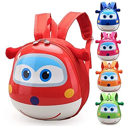 Schultasche für Grundschule, Cartoon-Kindergarten, für Jungen und Mädchen, niedlicher Rucksack, 1–3 Jahre, 5–6 Jahre