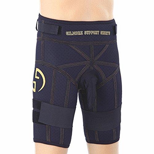 Pantaloncini di supporto Gilmore Groin Adductor Hamstring Injury Stabilit? del c