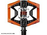 CRANK BROTHERS (クランクブラザーズ) ダブルショット ペダル オレンジ オレンジ 0320250002