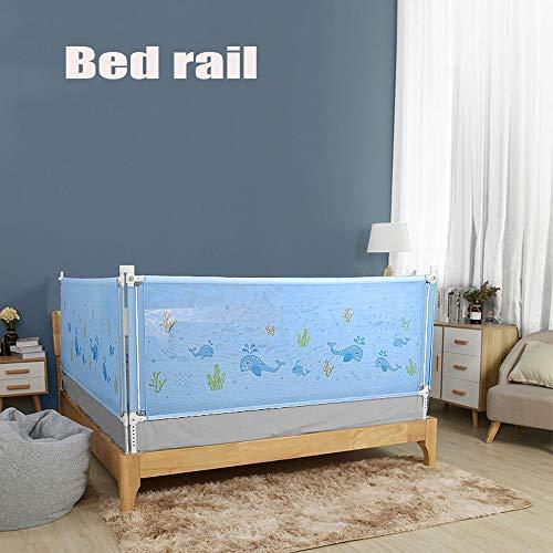 Cot Gordijnen, Veiligheid Bed Rail Met Pocket, Verstelbare Verticale Falen Lift Beschermende Bed Rail, Voor Ouders Bedden En Matrassen Alle Massief Houten Bedden,1.5m