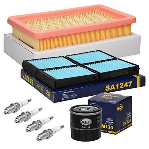 ECD Germany Inspektionspaket Wartungspaket Filterset 1 x Ölfilter 1 x Luftfilter 2 x...