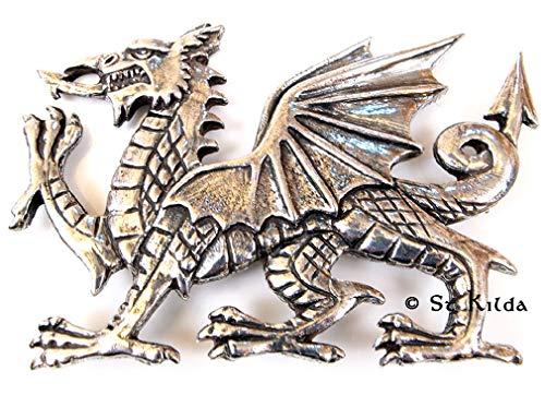St. Kilda Brosche Walisischer Drache
