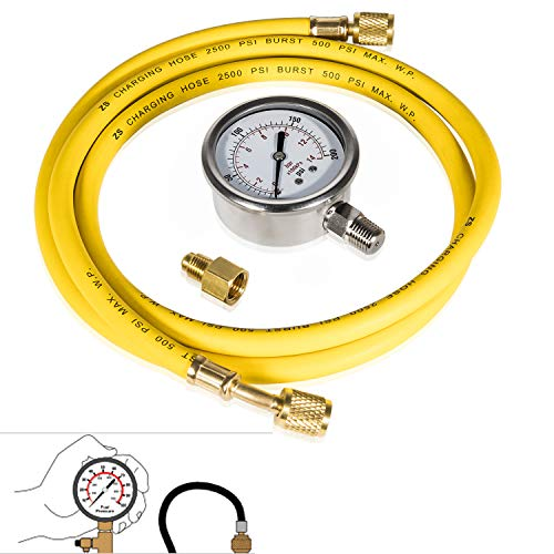 Find Bargain Bonbo Fuel Pressure Test Kit for Ford 2003-2007 Power Stroke 6.0L Diesel, Liquid Filled...