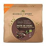 NUEVO - BAMBOO STORY Pasta 100% cacao crudo obleas criollo ecológico y bio 200gr. (masa/Licor)