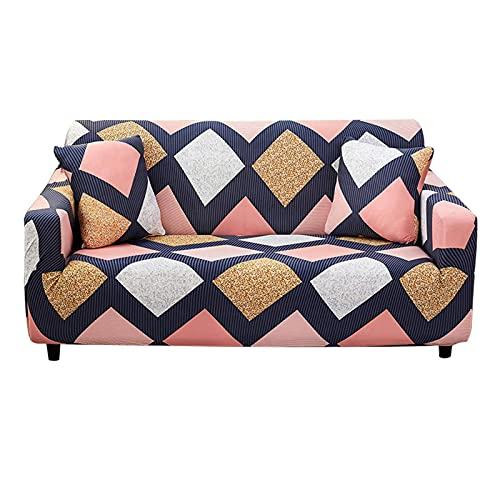 Keephic - Funda protectora protectora para sofá (4 plazas, 235-300 cm), diseño de Keephic