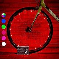 Activ Life Luces LED bicis (Set de 1 Rojo). Ideas para Regalo de cumpleaños y de Navidad. Oferta destacada de Black Friday y Cyber Monday para él o Ella, Hombres, Mujeres, niños o Adolescentes.