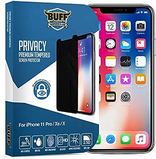 Buff iPhone X Privacy Ekran Koruyucu