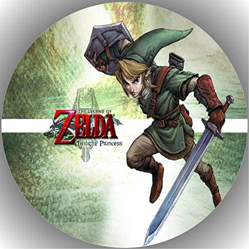 Fondant Tortenaufleger Tortenbild Geburtstag Die Legende von Zelda AMA21