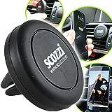 scozzi Handyhalterung Auto Magnet Handyhalterung fürs Auto Lüftung universal zB kompatibel mit HUAWEI P30 P20 Mate X 20 P Smart Y7 Y6 Y6s Y5 Nova 5 4 Pro Lite Lüftungsgitter KFZ Handy Halterung Halter