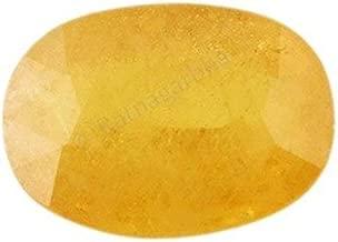 Ratnagarbha 5.25 ratti/Carat Yellow Sapphire pukhraj Astrological Gemstone, pukhraj Stone, Yellow Sapphire Stone, Yellow Color, Healing Stone, Jewelry Making, Wholesale Price.