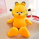 GAOGarfield Doll Plush Large Coffee Cat Doll Doll Niños Almohada para Dormir 130cm [2.45kg] Garfield