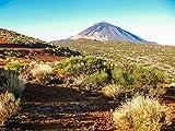 SHILIHOME Parque Nacional del Teide Islas Canarias España Pintura por números DIY Único