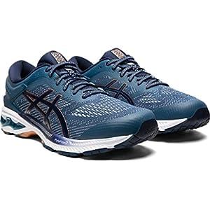 ASICS Men's Gel-Kayano 26 Running Shoes, 11.5, Grand Shark/Peacoat