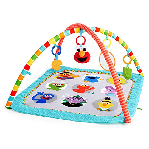 Best Sesame Street Baby Playmat: Bright starts fun with Sesame Street Friends Activity Gym