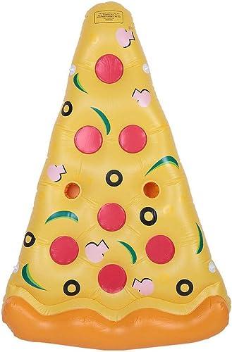 Aufblasbares sich hin- und herbewegendes Bett, lange sich hin- und herbewegende Pizza schnitt Swimmingpool-sich hin- und herbewegendes Bett, riesiges aufblasbares Pizza-sich hin- und herbewegendes Bet