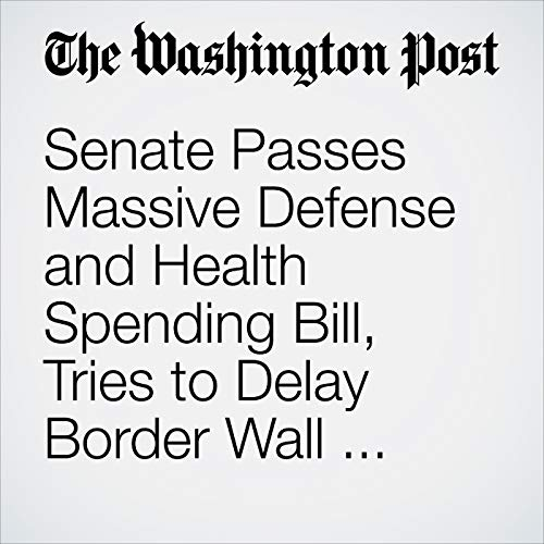 Senate Passes Massive Defense and Health Spending Bill, Tries to Delay Border Wall Fight to After Midterms copertina