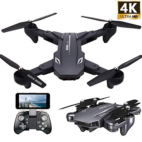 in budget affordable VISUO XS816 4k drone with live camera, Teeggi WiFi FPV RC quadcopter with 4k camera …
