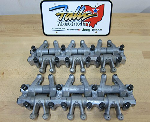 Chrysler Dodge 3.5L 4.0L Engine Rocker Arm Assembly Shaft Lifter Set of 2 OEM