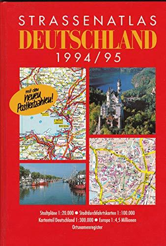 Strassenatlas Deutschland 1994/1995