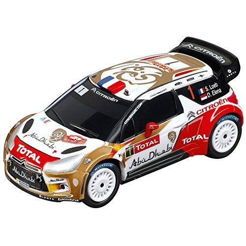 Carrera Go!!! - 20064006 - Voiture De Circuit - Citroën Ds3 WRC Citroën Total Abu Dhabi - No.1