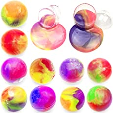 Anditoy 10 Pack Big Slime Balls Colorful Silly Putty Toys for Kids Girls Boys Christmas Stocking Stuffers