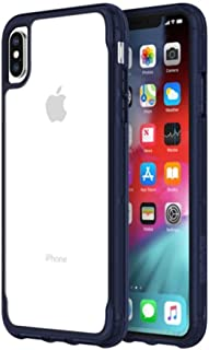 Griffin Survivor Cover For Apple Iphone Xs Max, Clear And Blue- Gip- 012- Cir