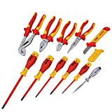 ELECTROPRIME BOOHER 1000V VDE Insulated Electrician's Screwdriver Pliers Tool Set 11pcs