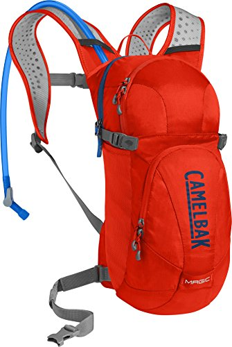 CamelBak Magic Crux Reservoir Hydration Pack, Cherry Tomato/Pitch Blue, 2 L/70 oz