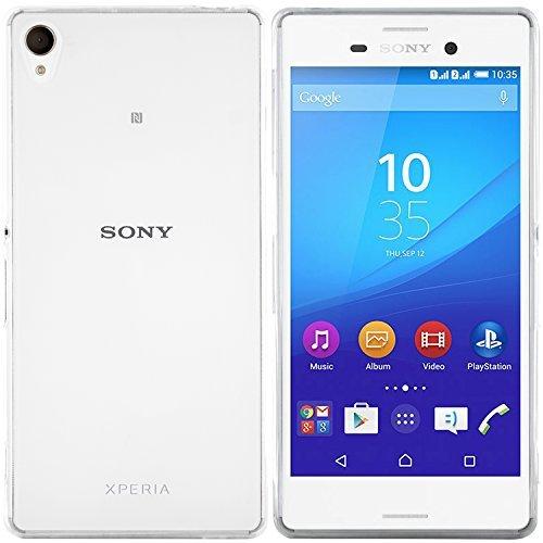 moodie Silikonhülle für Sony Xperia M4 Aqua Hülle in Transparent - Case Schutzhülle Tasche für Sony Xperia M4 Aqua