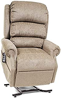 UltraComfort UC570-L Large (375#) Zero Gravity Recliner Lift Chair w/Eclipse (Almond)