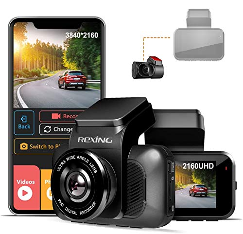 Rexing V5 with Rear View Camera