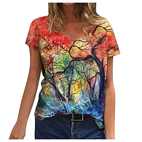 Shirt Damen Giraffe Lila Tshirt WeißE Bluse Damen T-Shirt Damen SchößChen Oberteil Tshirt Rosa Beachtime T-Shirt Damen Lustige Tshirts Für Frauen Tshirt Schulterfrei Damen T Schirt Damen Sommer