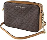 Michael Kors Women's Jet Set Item Lg Crossbody No Size (Brown Acorn)