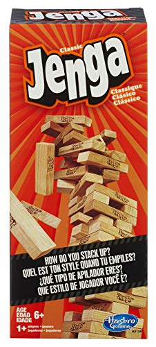 Hasbro Jenga Classic Game A2120EU4 for 6.49
