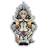 CAPCOM×B-SIDE LABELステッカー CAPCOMガール キリンシリーズ(女)