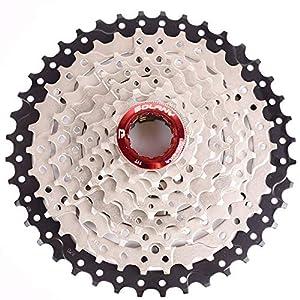 CYSKY Cassette de 8 velocidades 11-42T para Bicicleta de montaña Bicicleta de Carretera, MTB, BMX, SRAM, Shimano