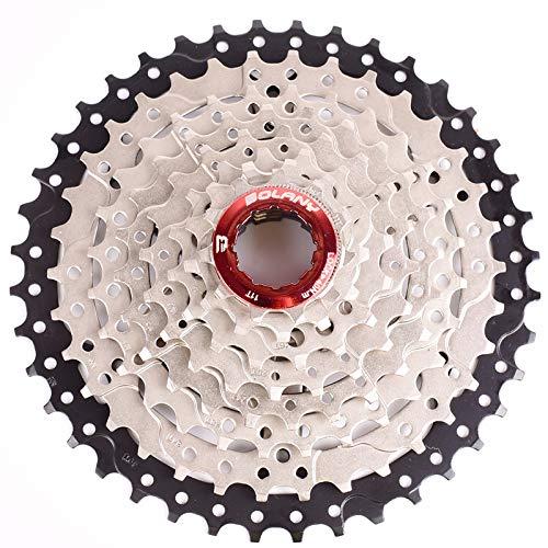 CYSKY Cassette de 8 velocidades 11-42T para Bicicleta de montaña, Bicicleta de Carretera, MTB, BMX, SRAM, Shimano