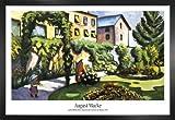 1art1 August Macke Poster und MDF-Rahmen - Gartenbild, Der