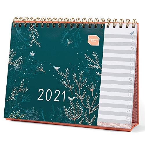 (en Anglais) Calendrier familial Boxclever Press Everyday 2021. Calendrier 2021 de jan à déc 21. Agenda planner avec listes perforées pour travailleurs à domicile ou planification personnelle.