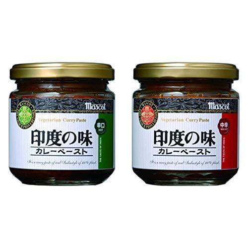 ヤスマ マスコット 印度の味 辛口 カレーペースト 瓶180g [0530]
