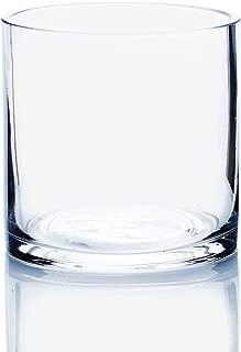 5-Inch Round Glass Vase Bowl - 5