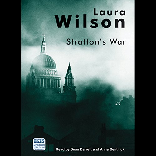 Stratton's War audiobook cover art
