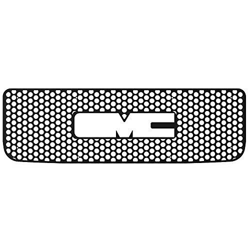 Ferreus Industries Grille Insert Guard Mesh Punch Polished Stainless fits 2001-2002 Chevy Silverado LD TRK-106-04-Chrome-a