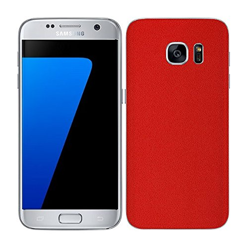 7 Layer Skinz Custom Skin Wrap Compatible with Samsung Galaxy S7 Edge (Red)