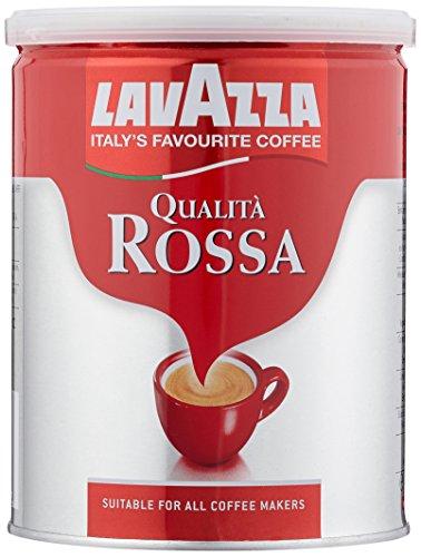 Lavazza Gemahlener Kaffee - Qualità Rossa - 2er Pack (2 x 250 g Dose)