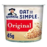 Quaker Avena So Simple Ollas de gachas originales, 45 g (paquete de 8)...